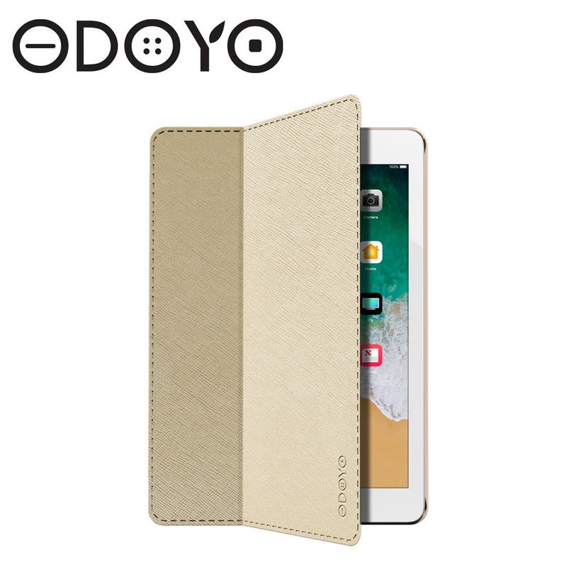 Odoyo (PA5105GD) Aircoat Folio 10.5吋 New iPad Pro 2017智慧休眠型超纖細保護套-金色