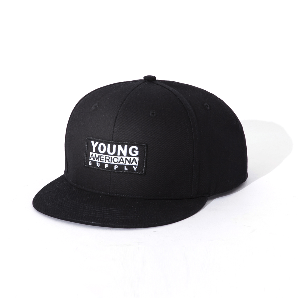 【Y.A.S】時尚型男SNAP BACK潮帽-黑(PB01003)