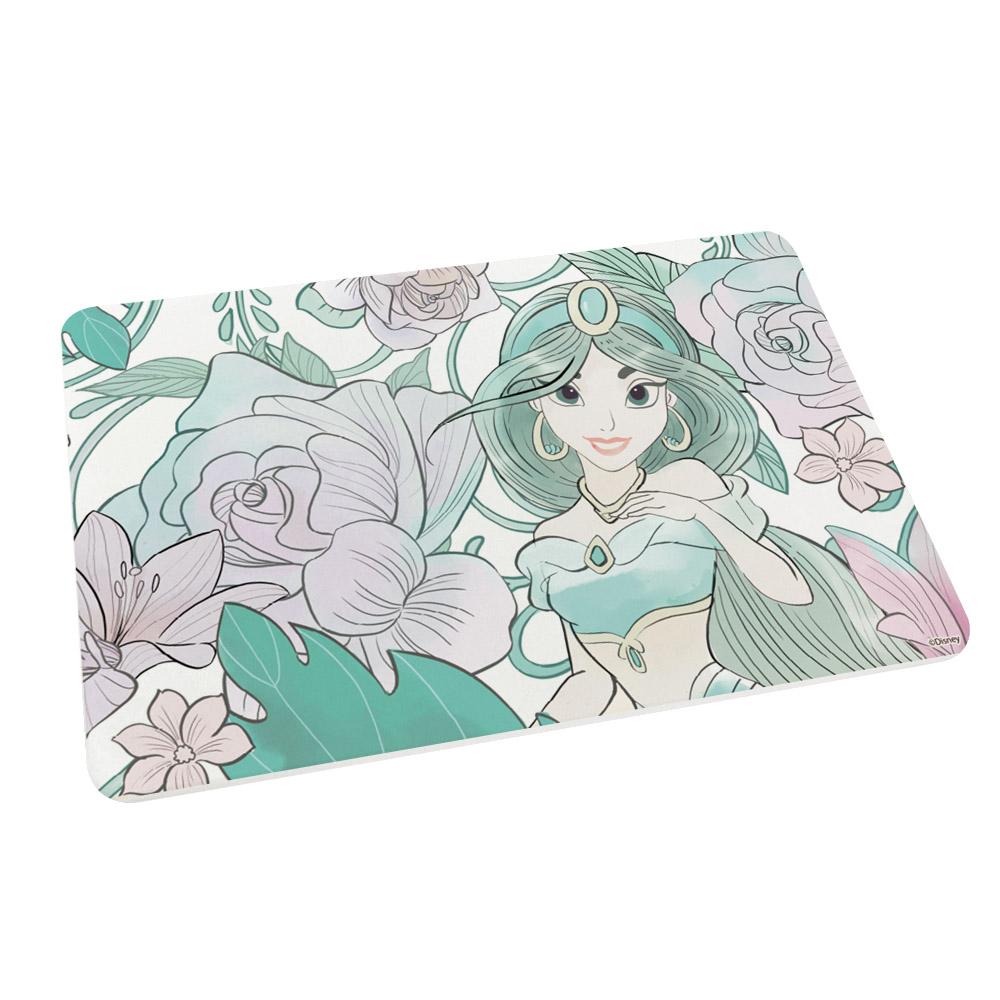 【收納王妃】迪士尼公主系列珪藻土吸水地墊-花朵茉莉