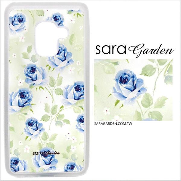 客製化 光盾 手機殼 Samsung 三星 S9 透明防滑紋 保護套 軟邊 防摔殼 漸層玫瑰碎花