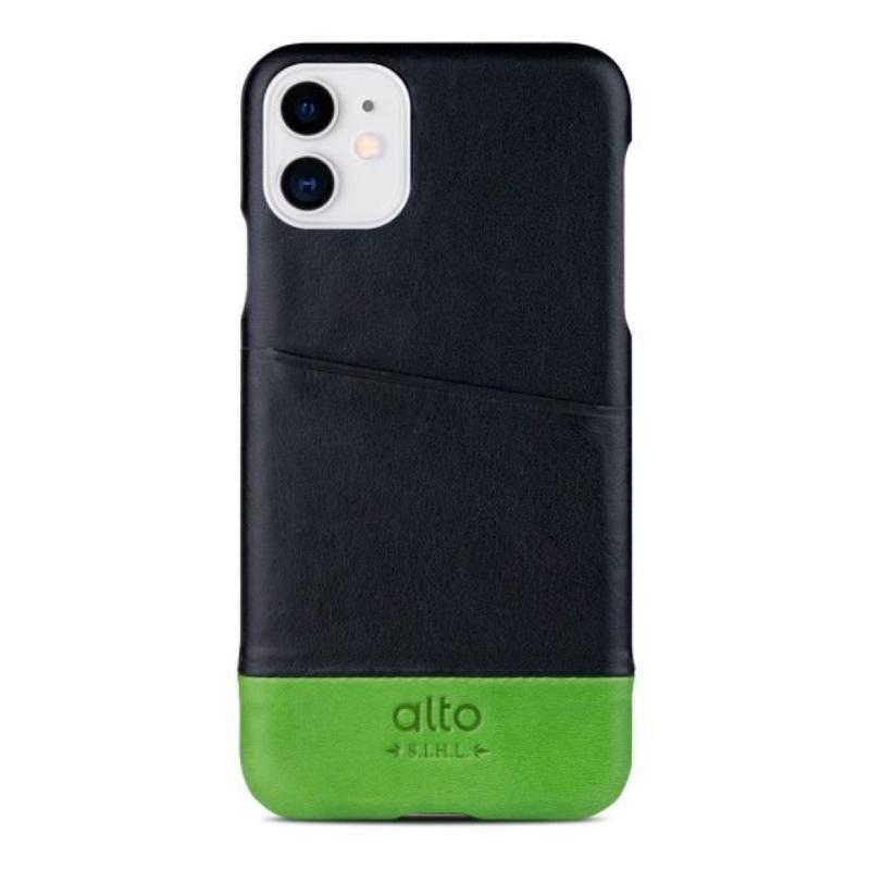 alto 背蓋 Metro iPhone11 6.1 黑/綠