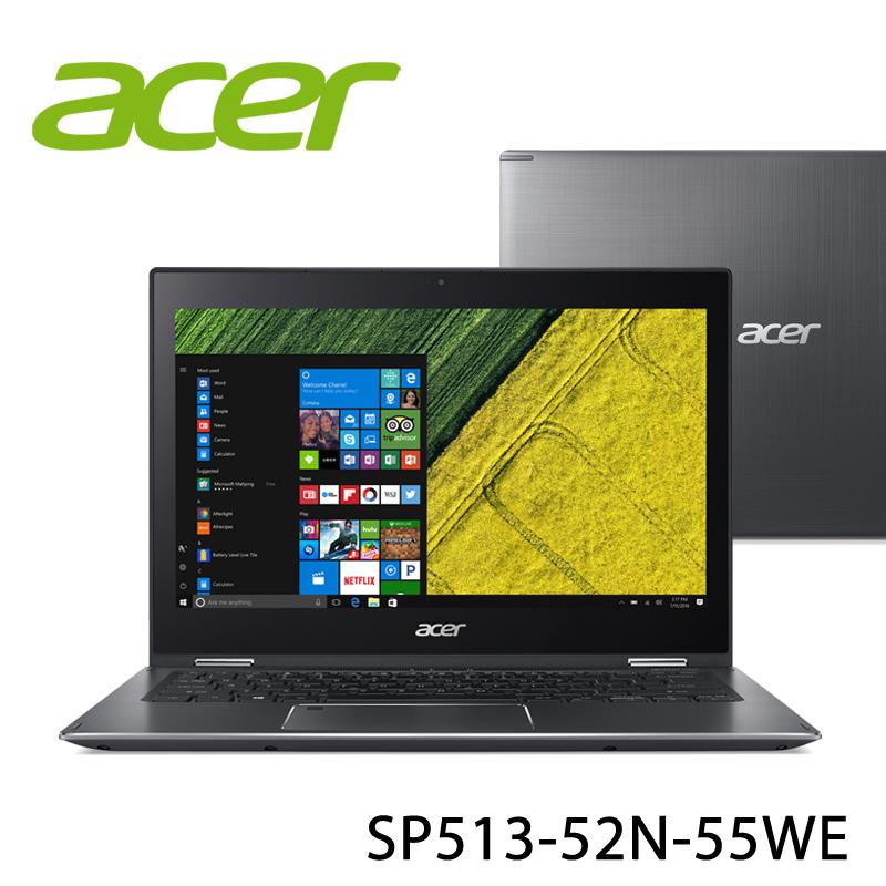 【ACER宏碁】SP513-52N-55WE 13.3吋 筆電-送美國OSTER隨行杯果汁機90th紀念款(市價1580元)+無線滑鼠