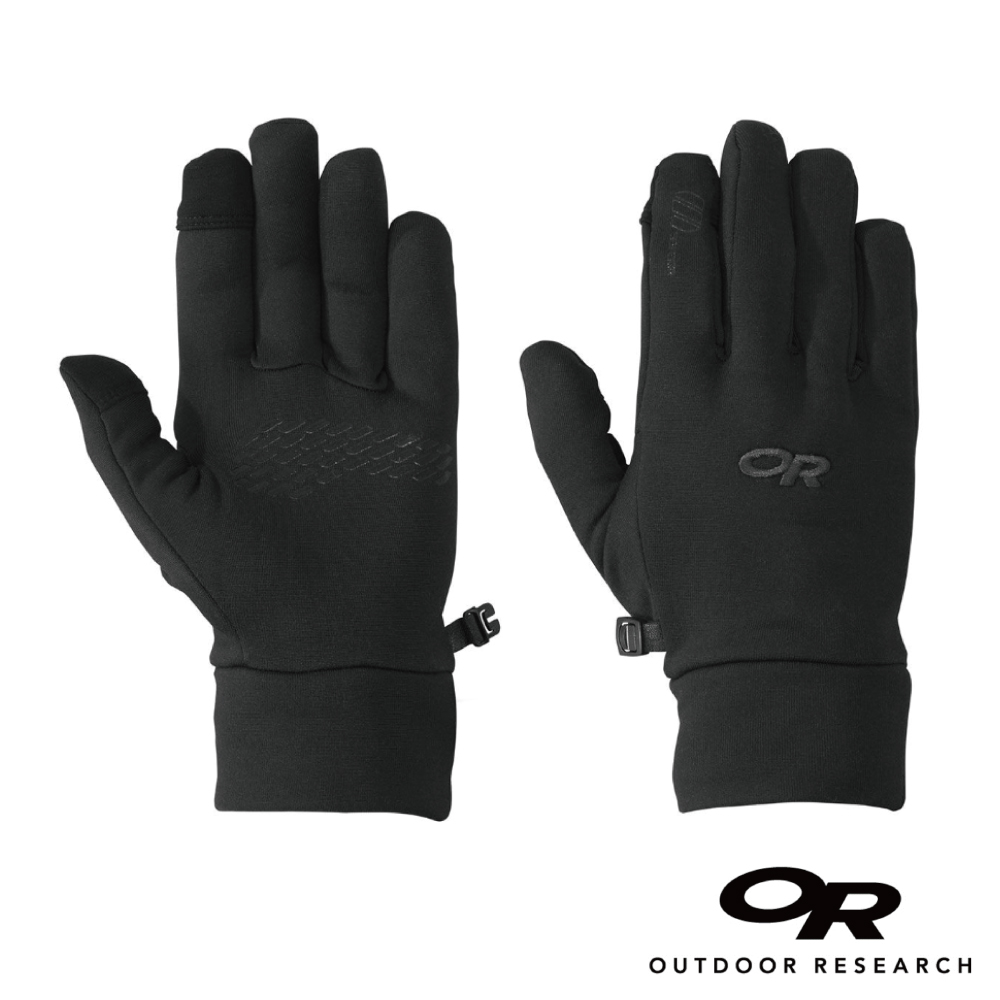 【美國Outdoor Research】黑色XL-男款戶外多用途超輕量保暖觸控防滑手套