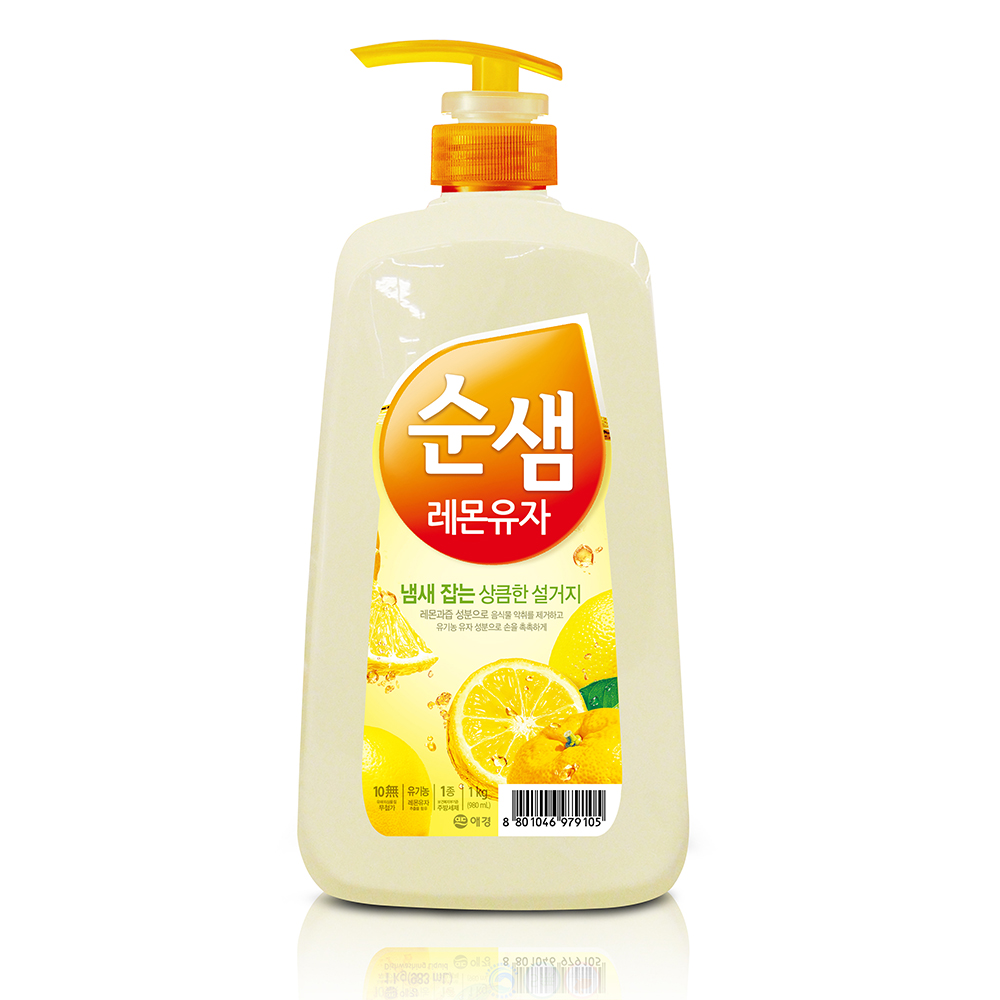 【韓國AK】全植物檸檬酵素洗潔液 1KGX3入