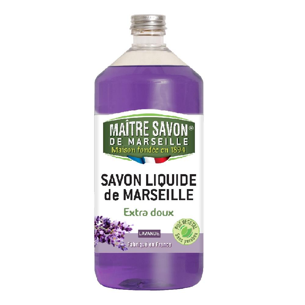 法國玫翠思馬賽液體皂(薰衣草)1000ML -2入