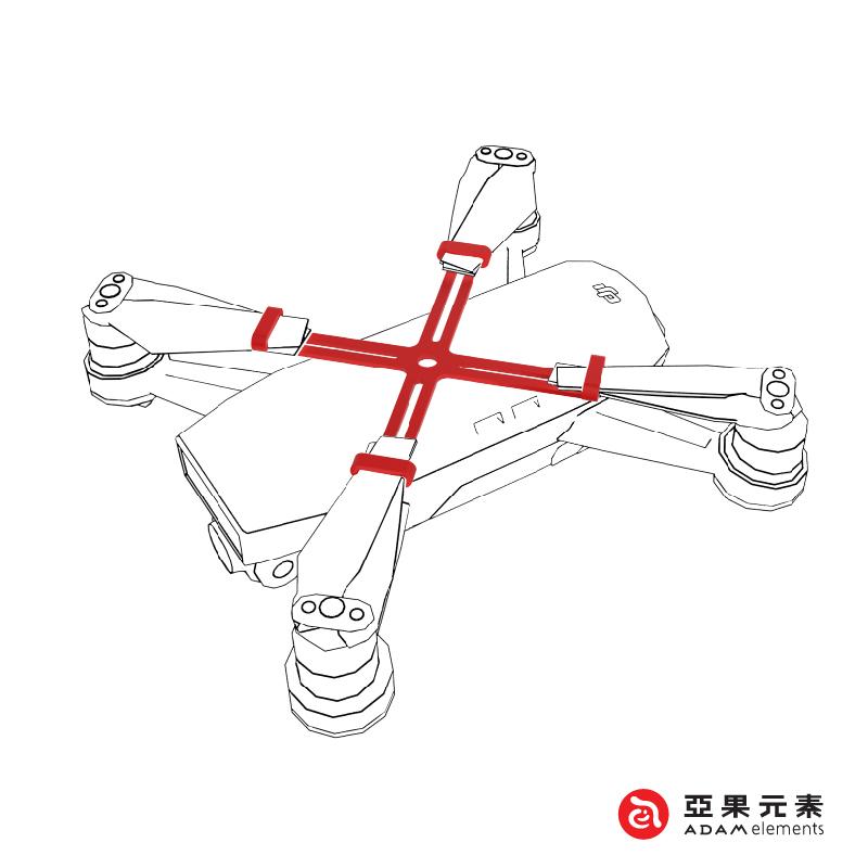 ADAM 曉|SPARK 螺旋槳固定架 - 黑