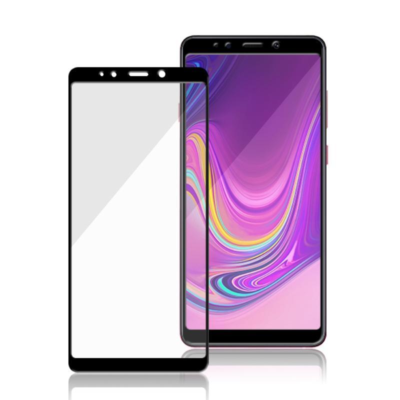 MEGA KING 滿版玻璃保護貼 SAMSUNG Galaxy A9(2018) 黑