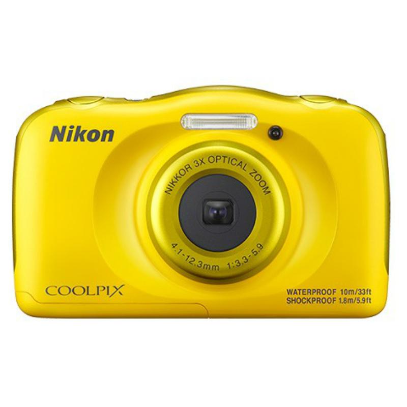 Nikon COOLPIX W100 黃色 防水相機 公司貨
