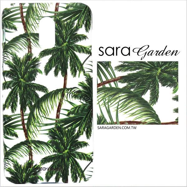 【Sara Garden】客製化 手機殼 HTC 10 Pro 叢林椰子樹 保護殼 硬殼