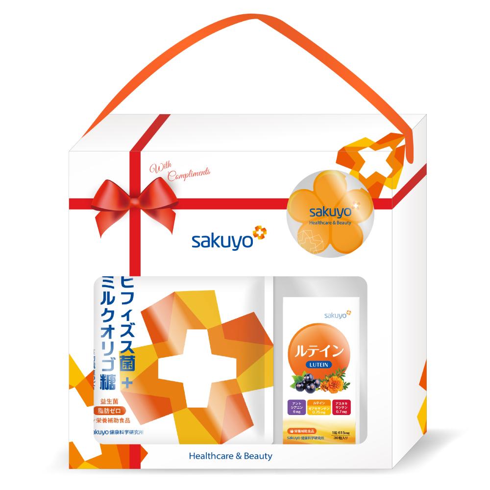 sakuyo禮盒F (益生菌+葉黃素)