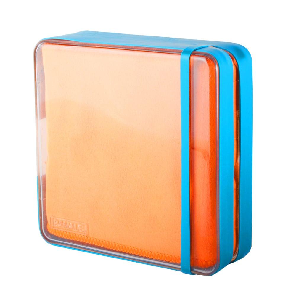 【義大利BANALE】買一送一(顏色不指定) 旅用纖柔快乾巾(橘毛巾/藍盒)