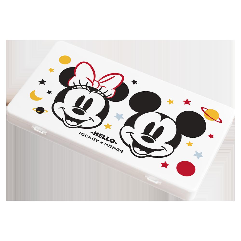 【收納王妃】迪士尼 (星球米奇米妮)-米奇米妮系列防疫必備口罩盒/零錢盒/收納盒/文具盒