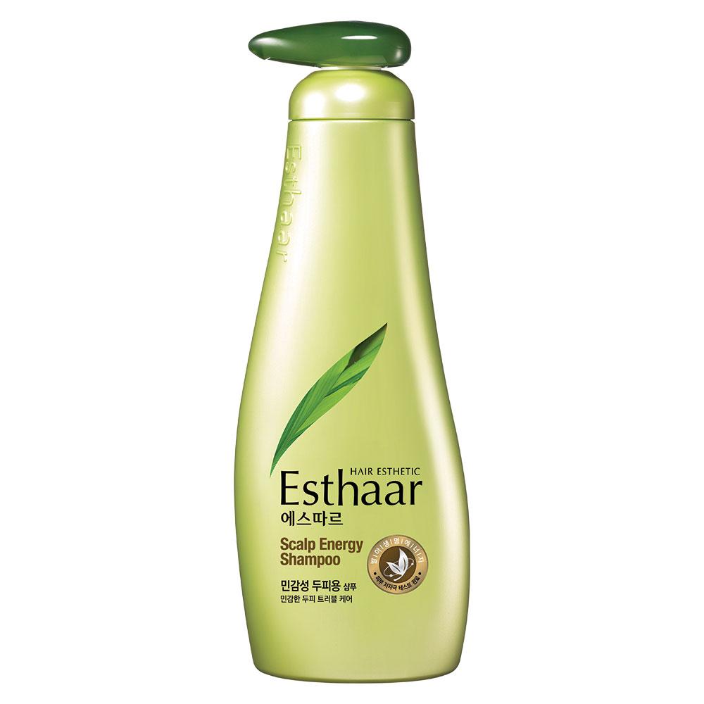 (即期品)Esthaar愛絲卡天然幼芽活效洗髮精(敏感頭皮)500mlX4入-效期2020.03