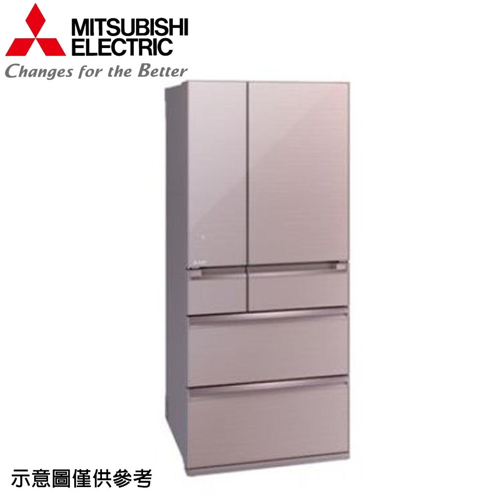 【MITSUBISHI 三菱】705公升日本原裝變頻六門冰箱MR-WX71Y-P