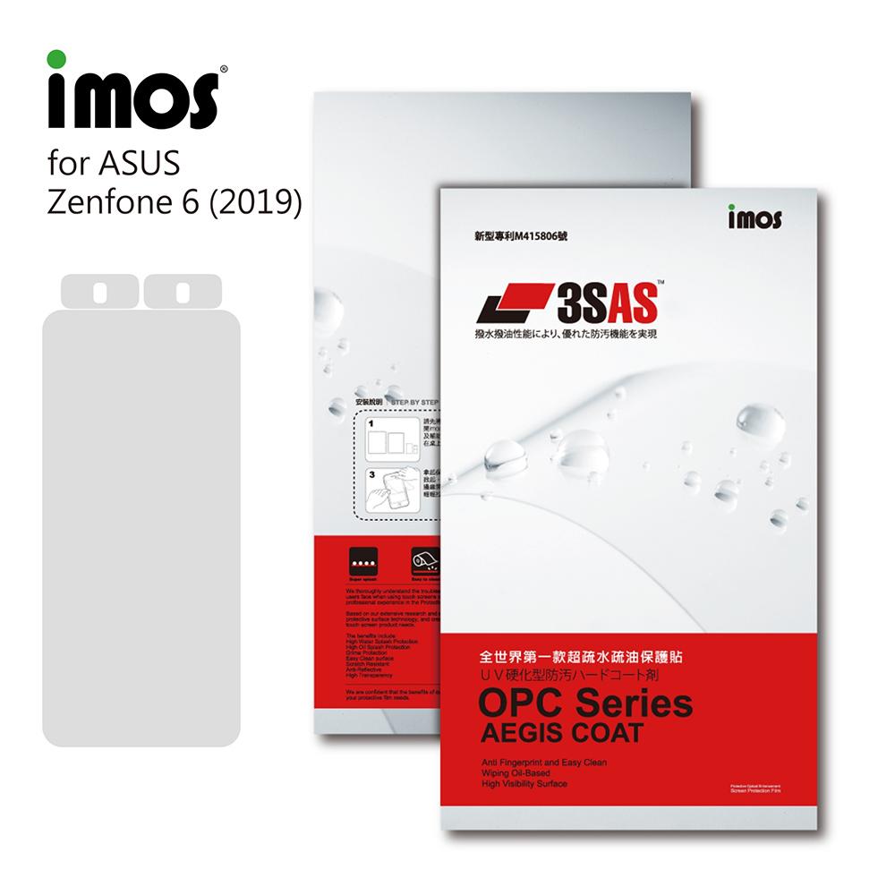 iMos ASUS Zenfone 6 2019 3SAS 螢幕保護貼