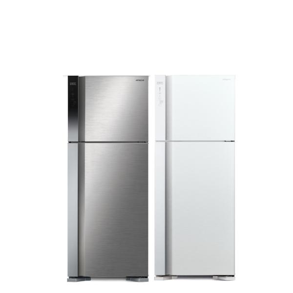 日立460公升雙門(與RV469同款)冰箱PWH典雅白RV469PWH