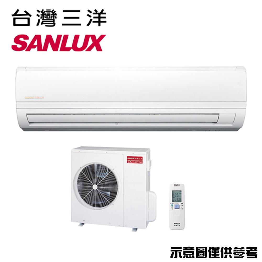 【SANLUX三洋】8-10坪變頻冷專分離式冷氣SAC-63V7/SAE-63V7