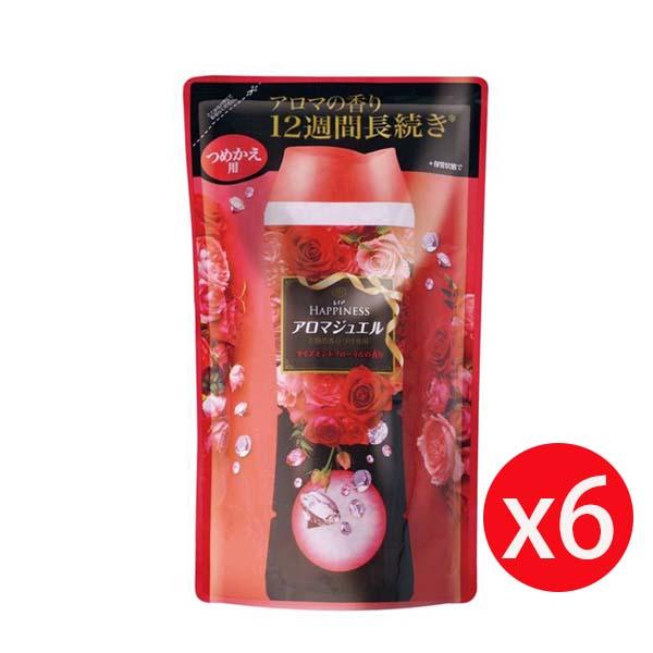 Lenor 蘭諾衣物芳香豆 455ML補充包 紅-晨曦玫瑰 *6包