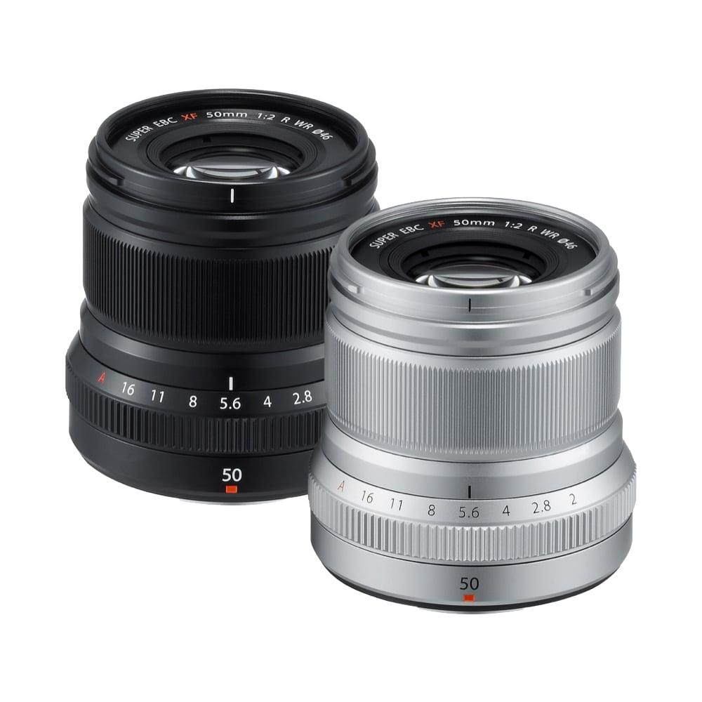 FUJIFILM XF 50mm F2 R WR 定焦鏡頭(公司貨)/銀色-送保護濾鏡+拭鏡筆+吹球