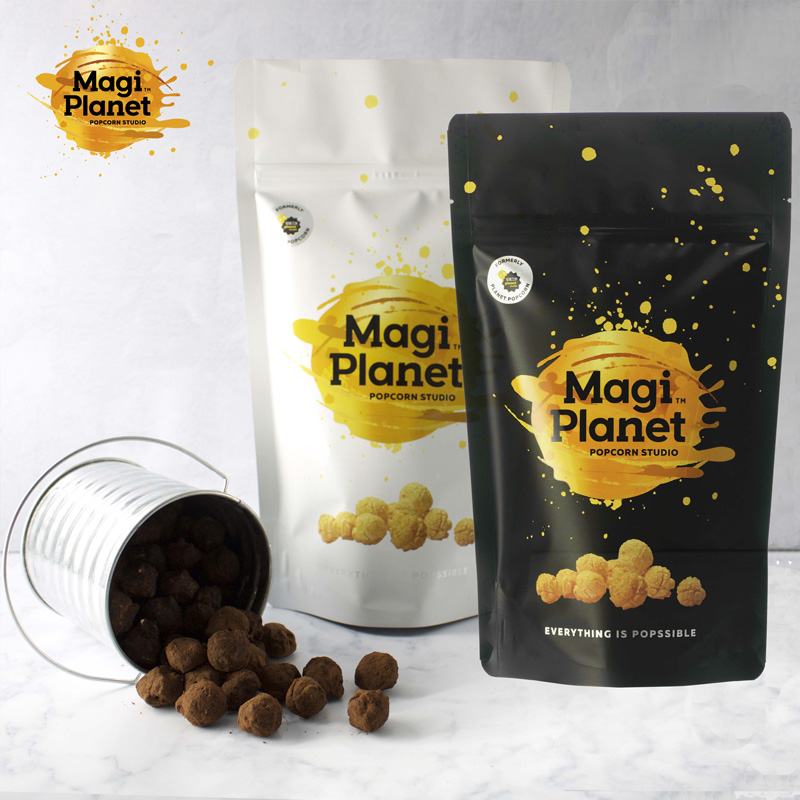 【Magi Planet星球工坊爆米花】※極致奢華※ - 松露巧克力太妃+太妃焦糖+特濃起司+玉米濃湯
