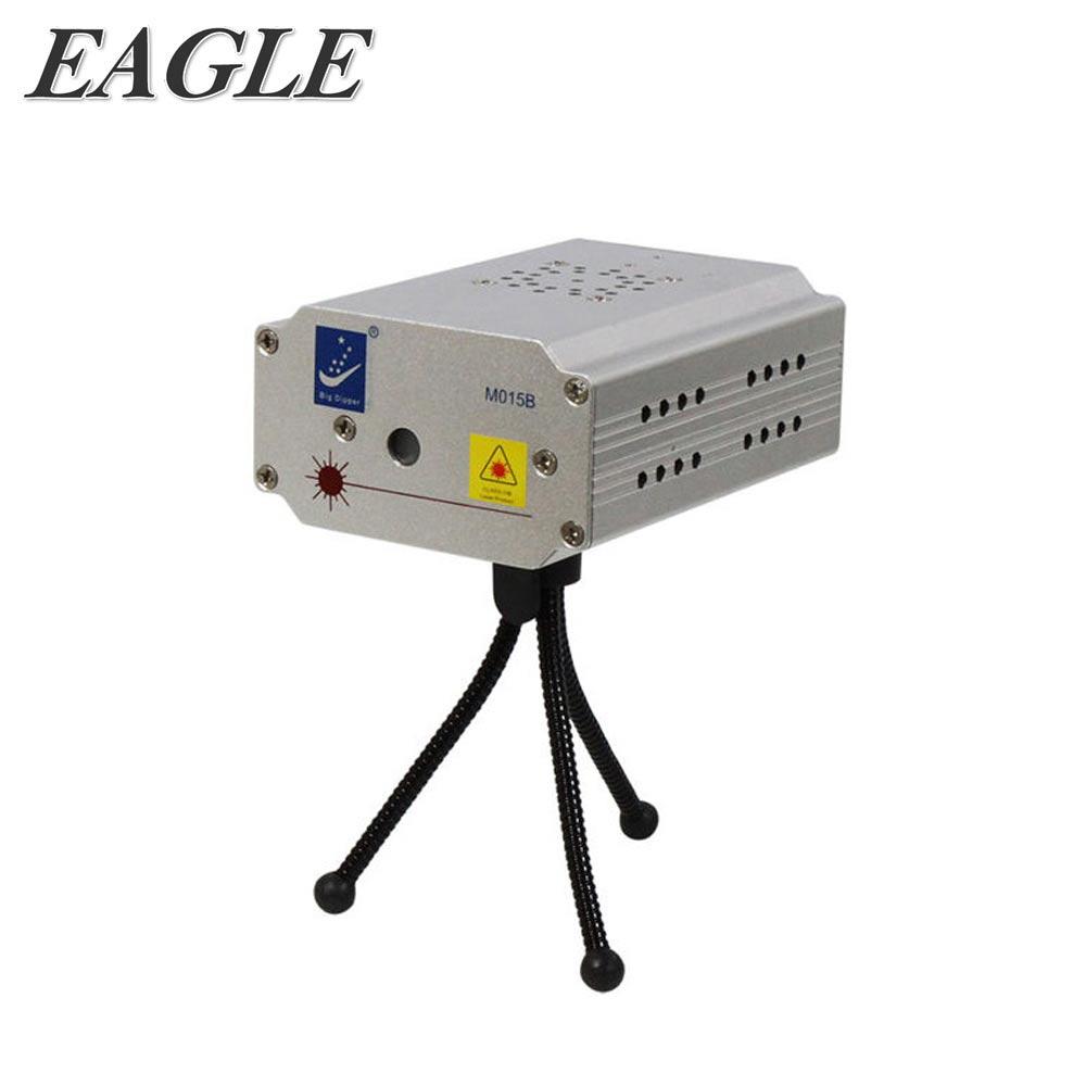 【EAGLE】KTV鐳射/激光燈/多圖案舞台燈光/自動頻閃聲控多模式(M015)
