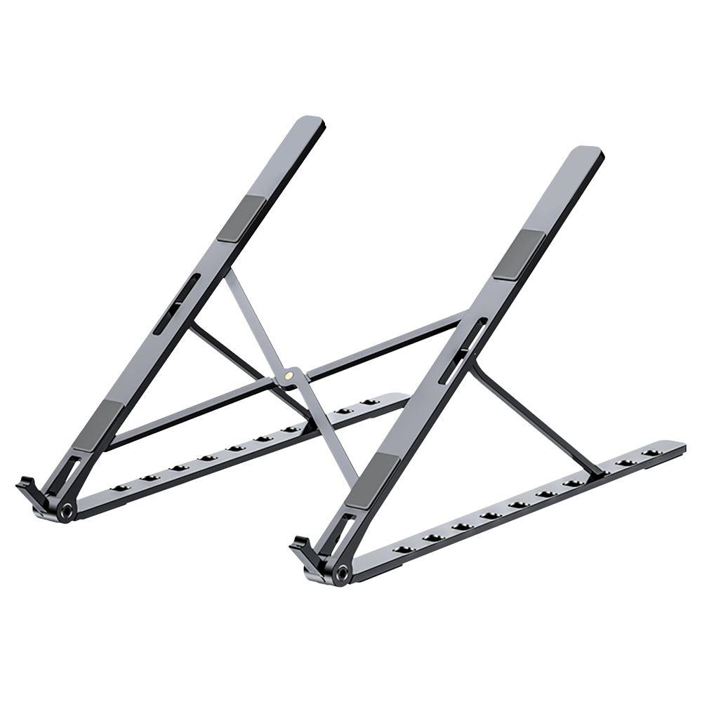 FJ 鋁合金摺疊筆電支架N5 黑色