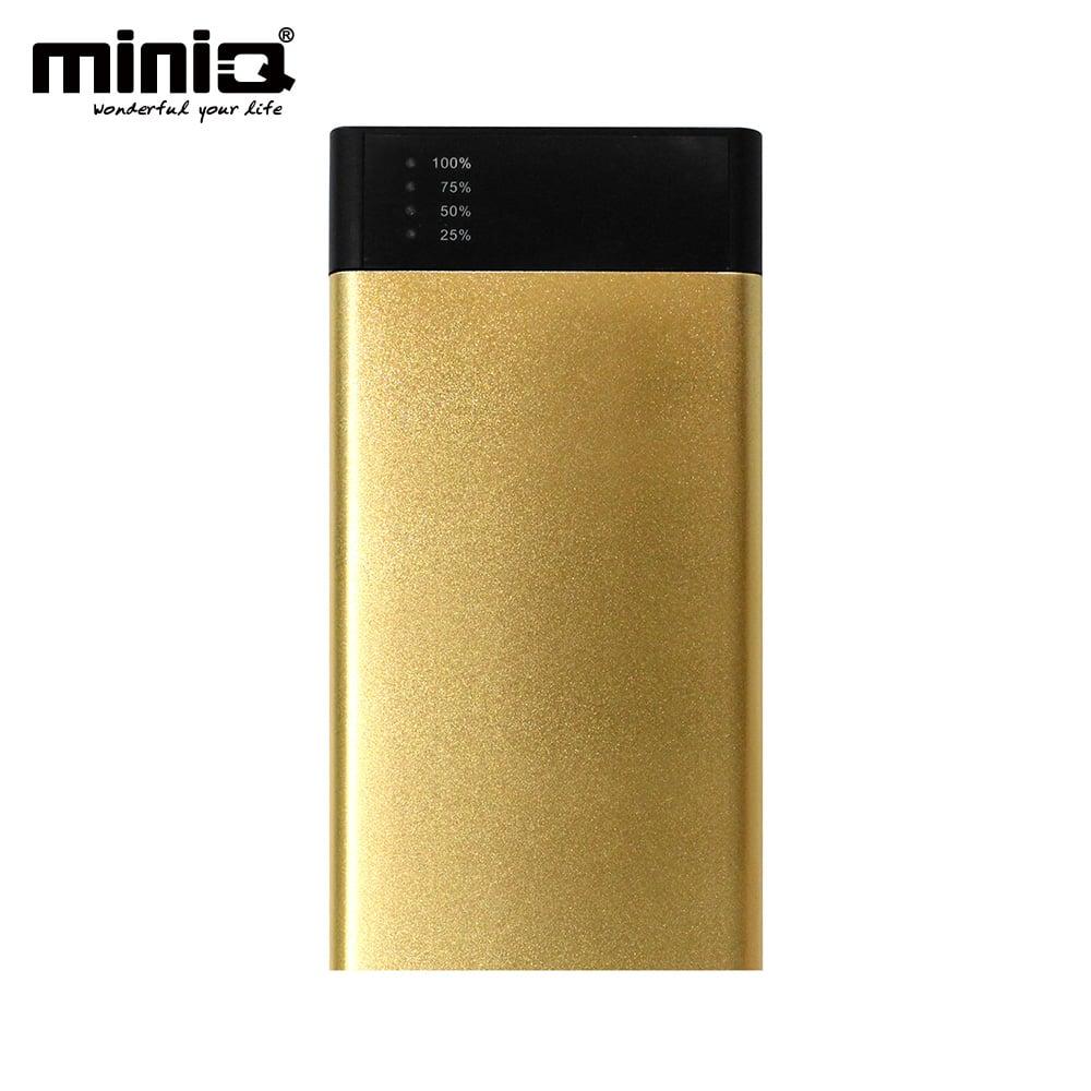 miniQ 18000超大容量雙輸出行動電源 - 金色