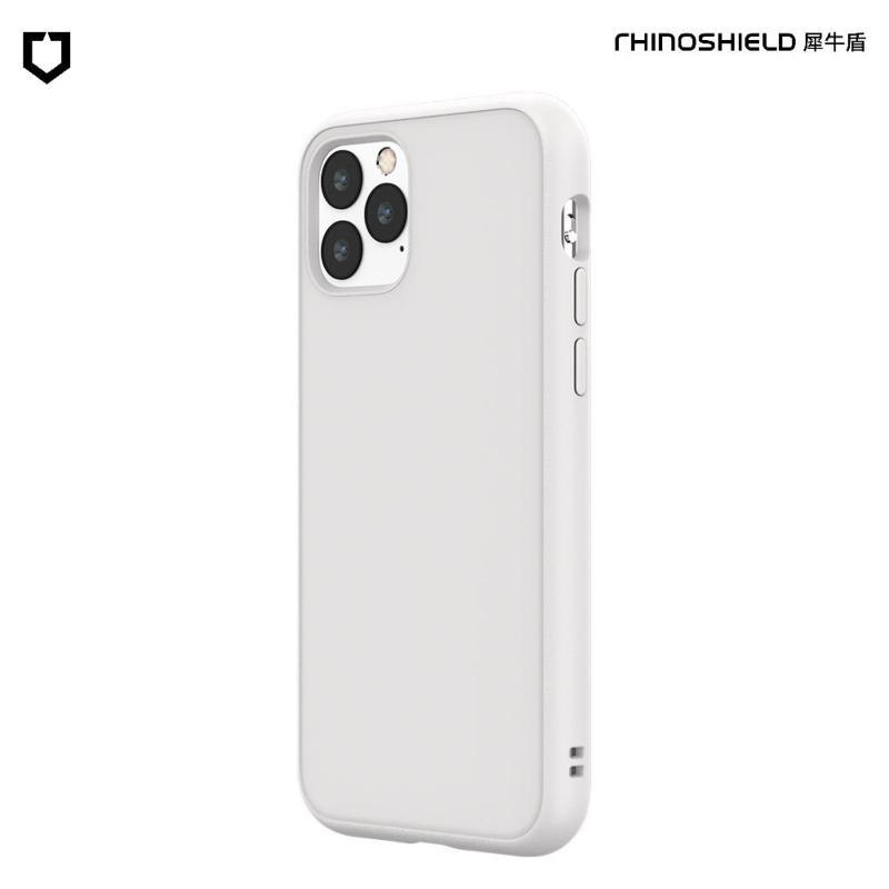 犀牛盾 SolidSuit 防摔背蓋手機殼 iPhone 11 Pro Max 6.5(2019) 經典白