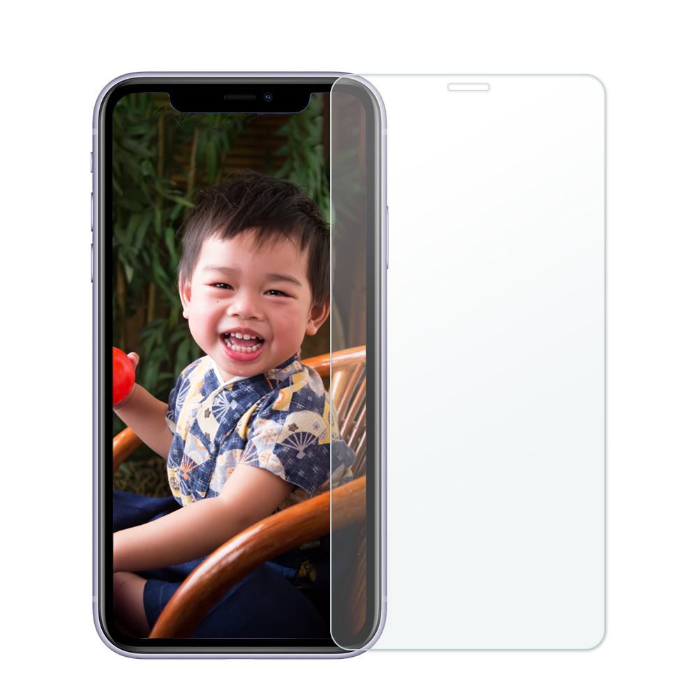 iPhone 11 / iPhone XR 6.1吋 2.5D 9H 全透滿版鋼化玻璃保護貼