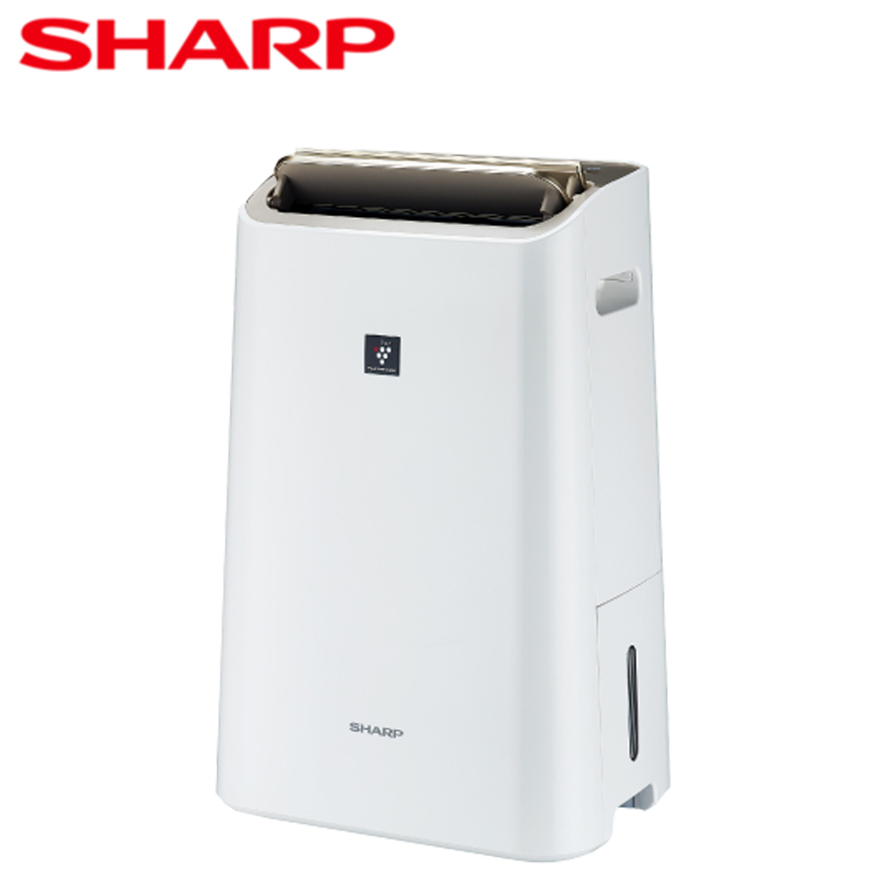 【SHARP夏普】12公升自動除菌離子清淨除濕機DW-H12FT-W