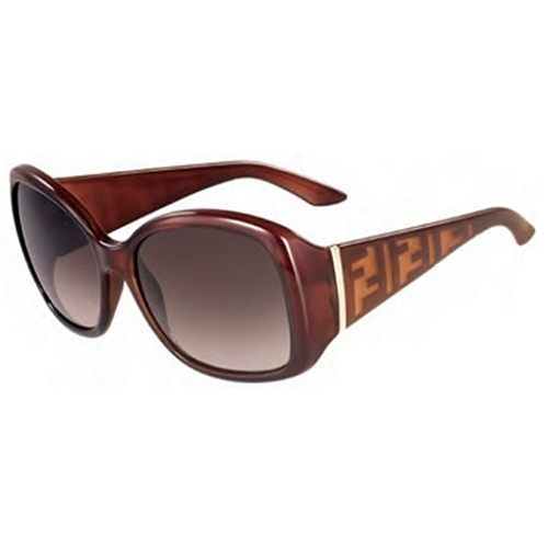 FENDI LOGO 太陽眼鏡 紅色 5196
