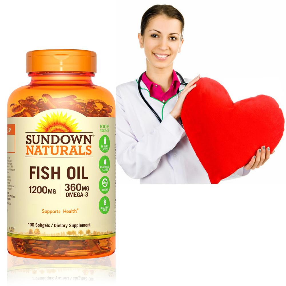 Sundown日落恩賜 精萃深海魚油1200mg(100粒/瓶)
