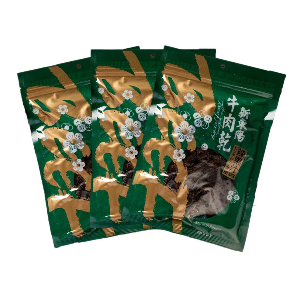【新東陽】辣味果汁牛肉乾 (230g*3包)