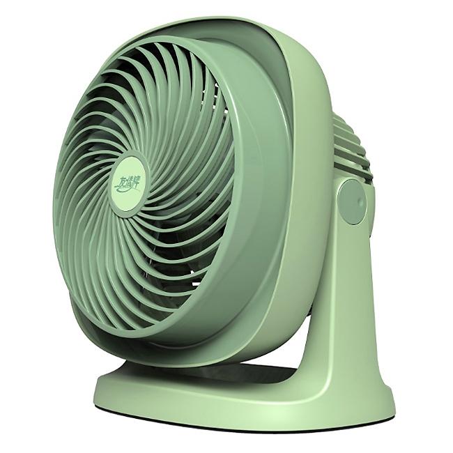 【友情牌】6吋渦旋式對流循環扇(粉綠) KG-6690