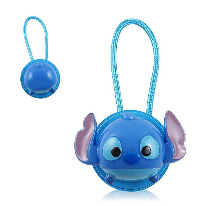 Disney迪士尼TsumTsum 史迪奇 公仔原廠認證Apple Lightning造型伸縮傳輸線