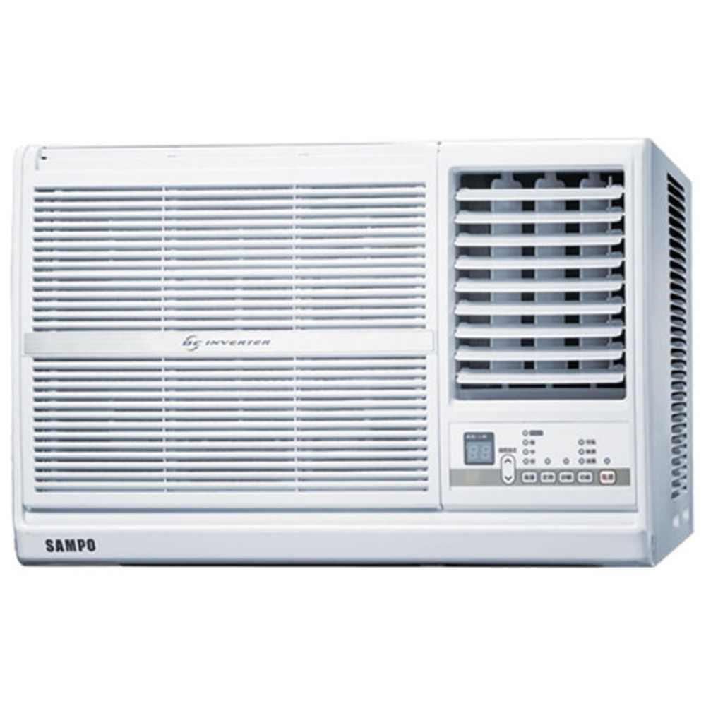 ★含標準安裝★【SAMPO聲寶】變頻窗型冷氣6坪AW-PC41D1右吹