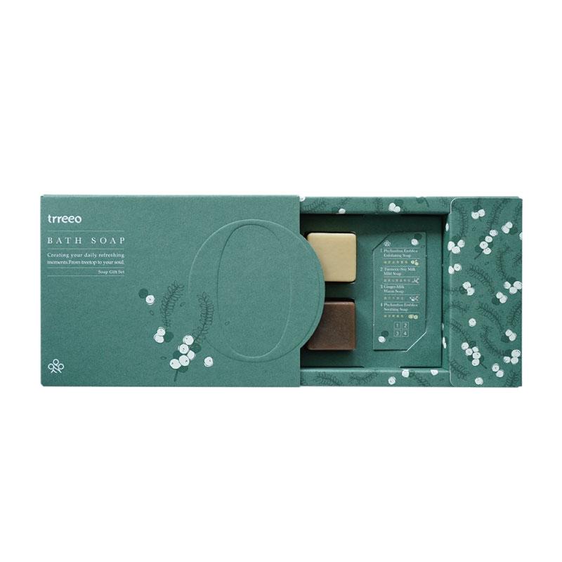 樹重奏森然清潔皂禮盒(28g四入組)