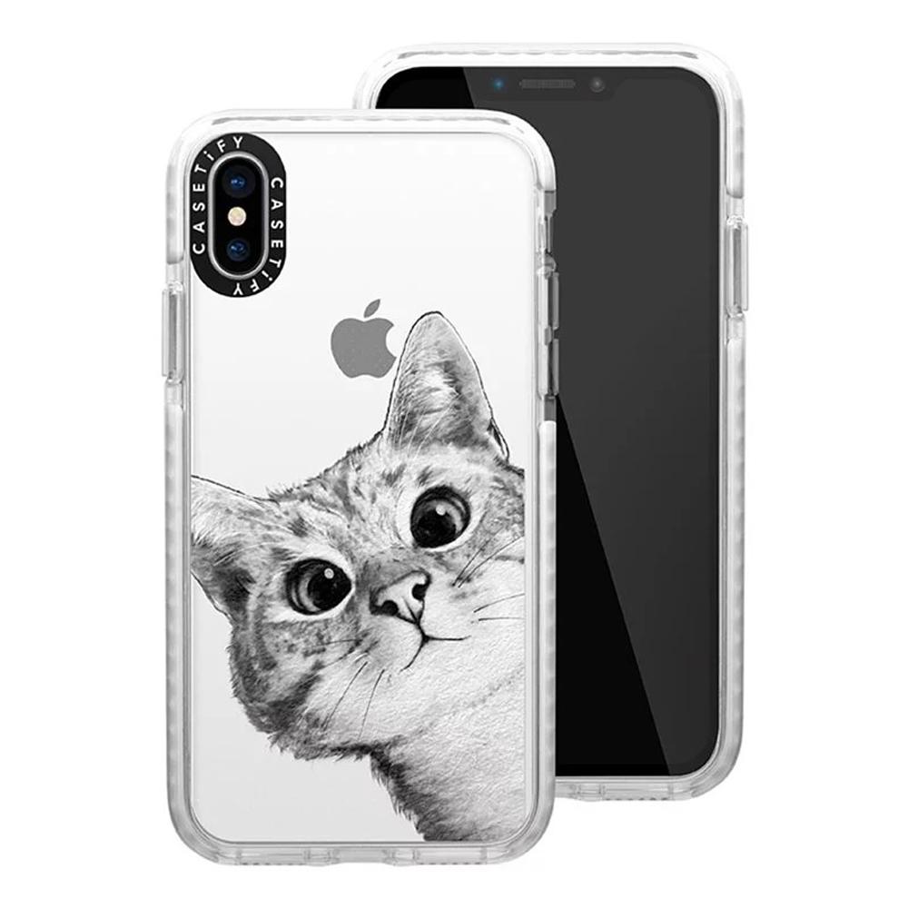 Casetify iPhone Xs Max - 耐衝擊保護殼 - 躲貓貓