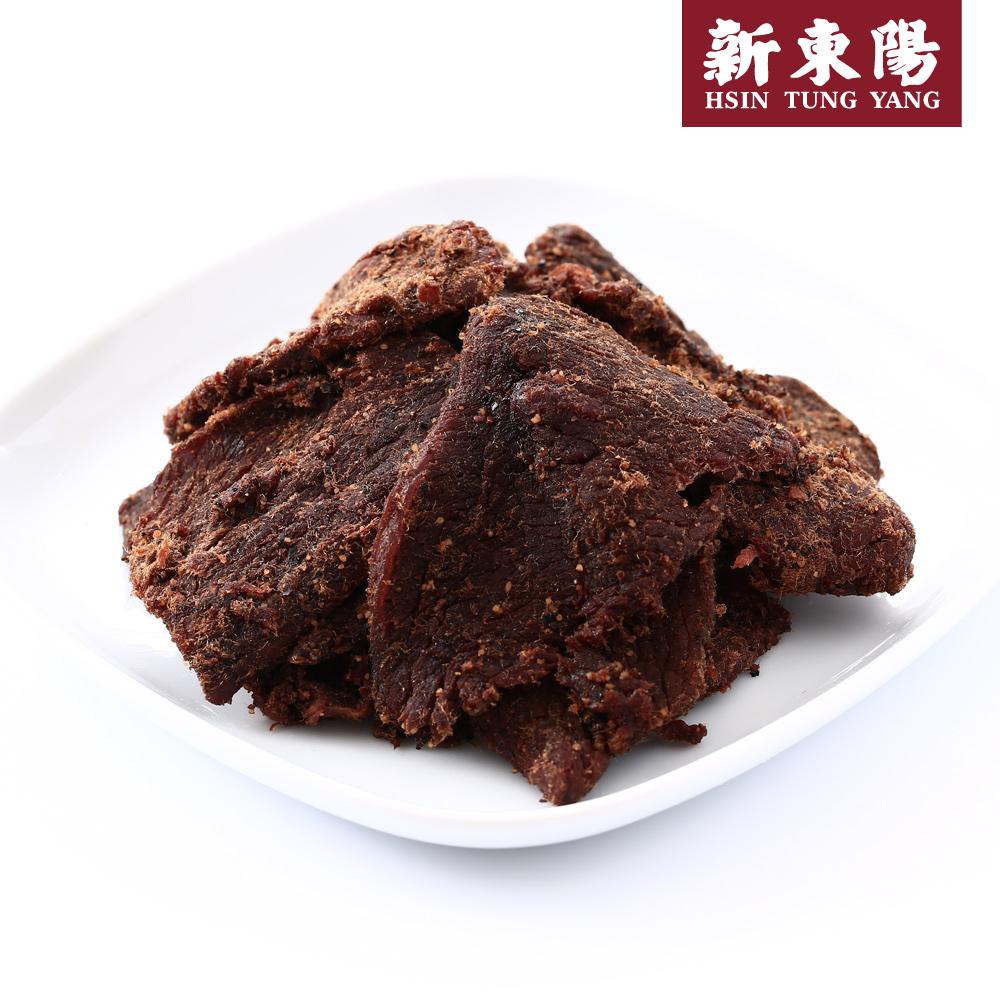 【新東陽】黑胡椒牛肉乾(230g*2包),免運