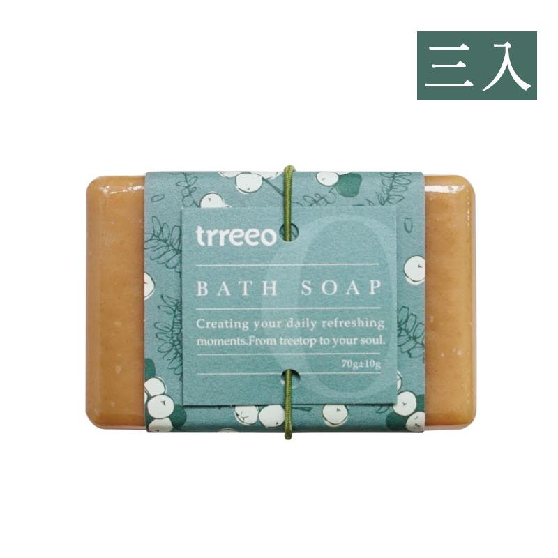 【樹重奏】薑汁牛奶暖心皂(三入組)