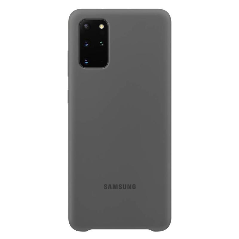 SAMSUNG Galaxy S20+ 5G薄型背蓋 矽膠材質 灰