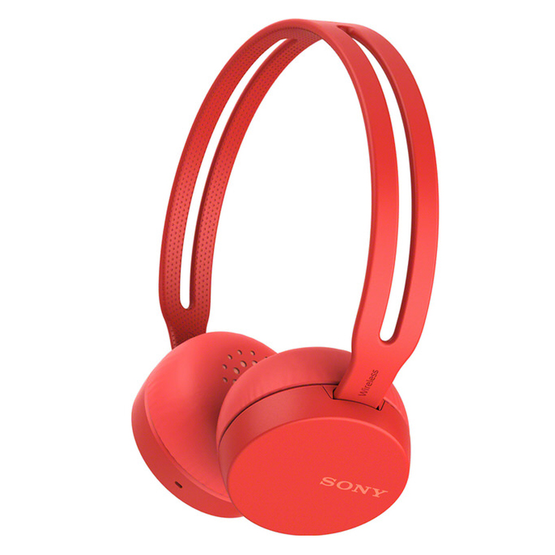 【SONY 索尼 】無線耳罩式耳機 WH-CH400 紅色