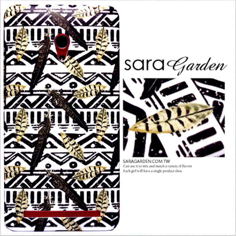 【Sara Garden】客製化 手機殼 ASUS 華碩 ZenFone Max (M2) 民族風 捕夢網 羽毛 保護殼 硬殼