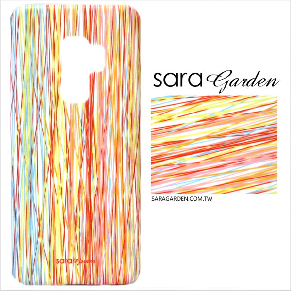 【Sara Garden】客製化 手機殼 Samsung 三星 Note8 保護殼 硬殼 潮流線條