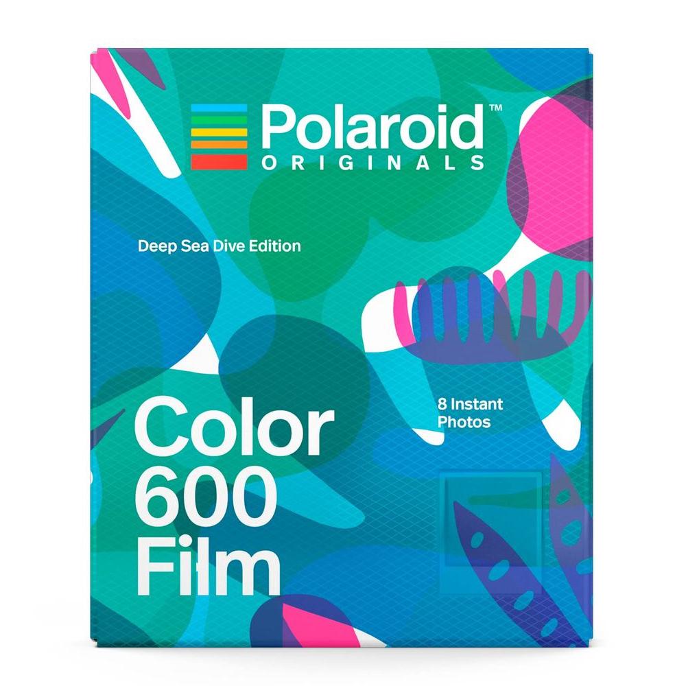 Polaroid Color Film for 600 彩色底片(深海潛水版)/2盒 4849