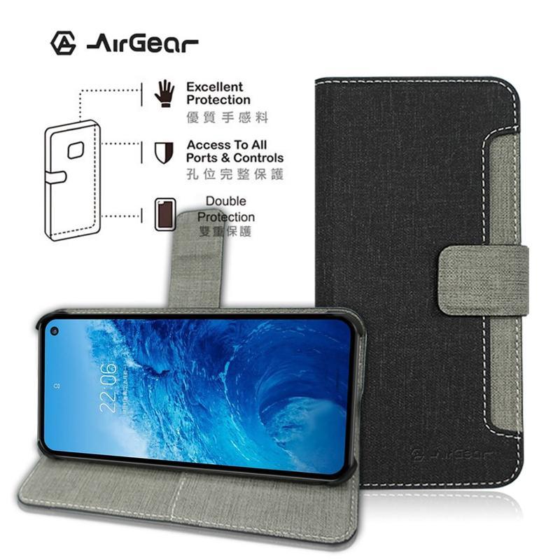 AirGear 側掀皮套 SAMSUNG Galaxy S10e黑