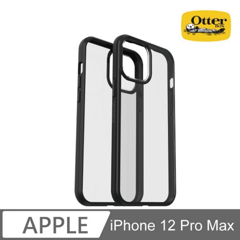 Otter Box React 輕透防摔殼 iPhone 12 Pro Max (6.7) 黑/透