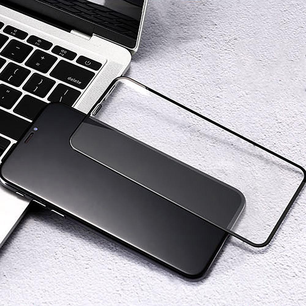 REMAX Apple iPhone XR 帝王 9D 鋼化玻璃膜(黑色)