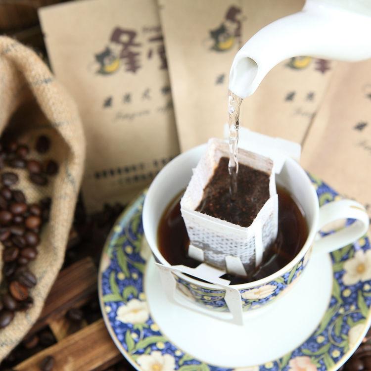 《蜂屋》哥倫比亞濾泡式咖啡,環保裸裝包(20入)