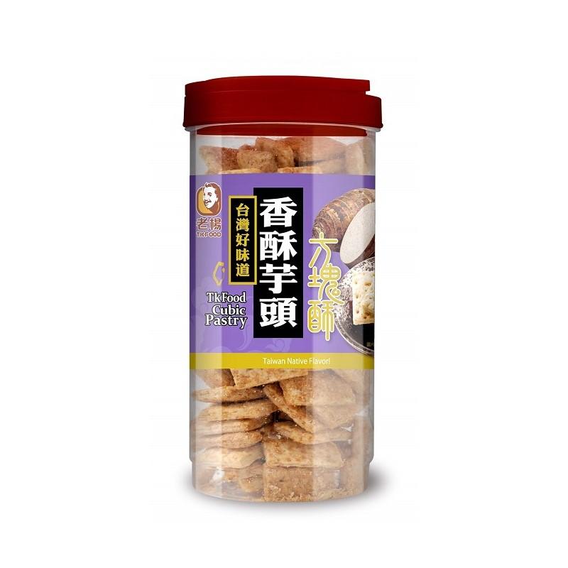 老楊芋頭方塊酥(奶素)370G*6罐